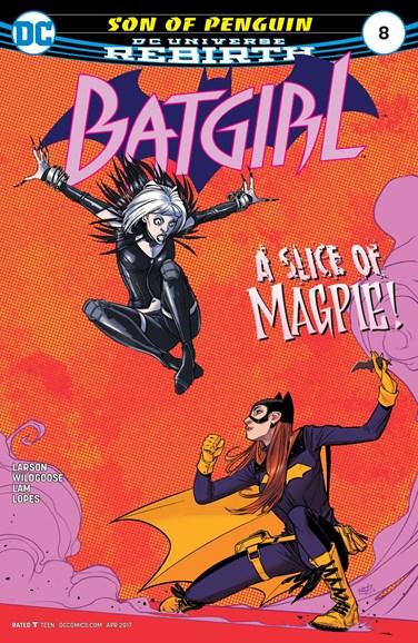 Batgirl Cover - 4/1/2017