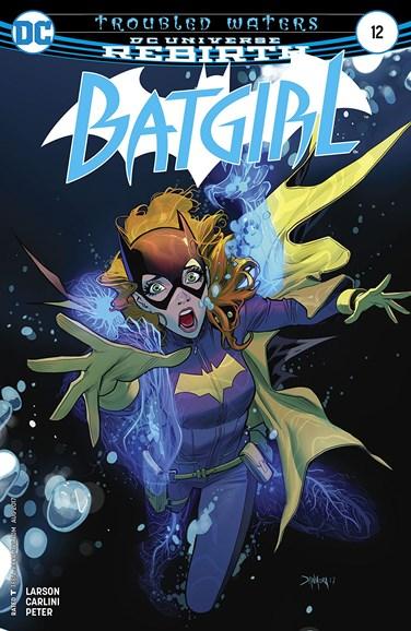 Batgirl Cover - 8/1/2017