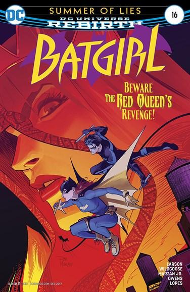 Batgirl Cover - 12/1/2017