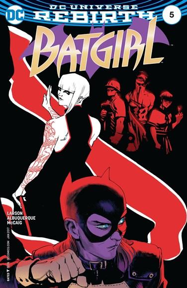 Batgirl Cover - 1/1/2017