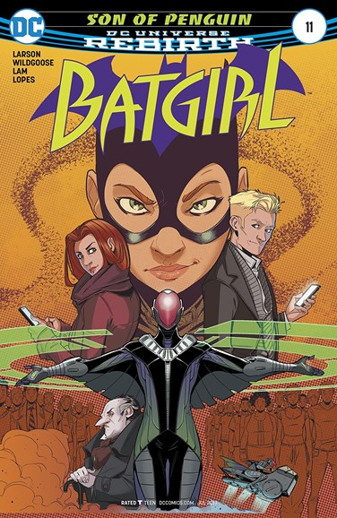 Batgirl Cover - 7/1/2017