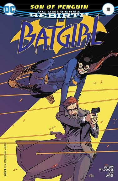 Batgirl Cover - 6/1/2017