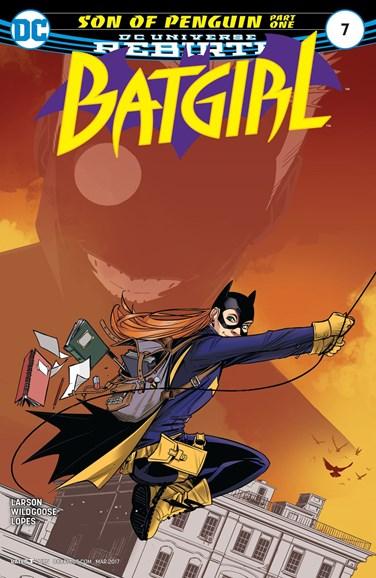 Batgirl Cover - 3/1/2017