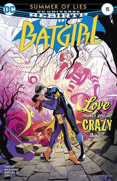 Batgirl Cover - 11/1/2017