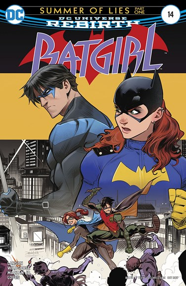 Batgirl Cover - 10/1/2017