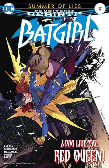 Batgirl Cover - 1/1/2018