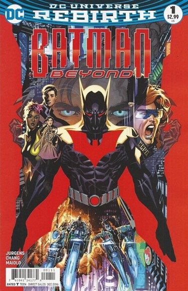 Batman Beyond Cover - 12/1/2016
