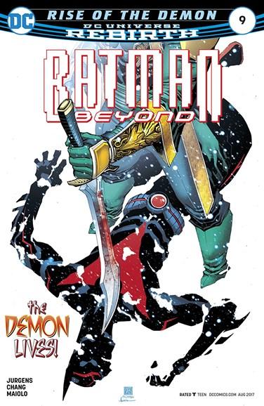 Batman Beyond Cover - 8/1/2017