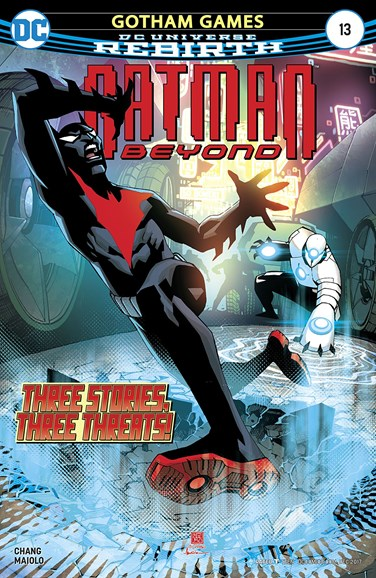 Batman Beyond Cover - 12/1/2017