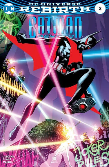 Batman Beyond Cover - 2/1/2017