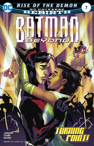 Batman Beyond Cover - 6/1/2017