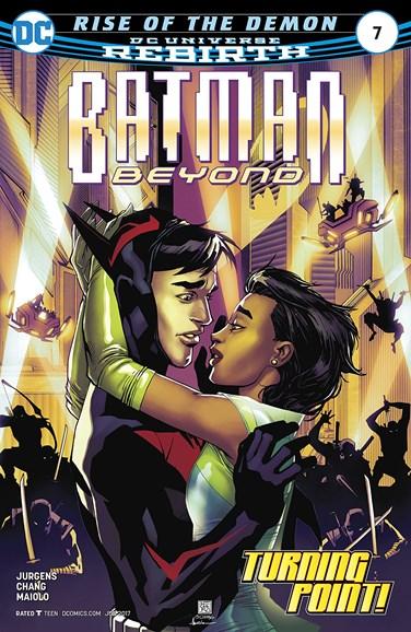 Batman Beyond Cover - 6/1/2017
