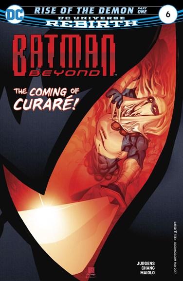 Batman Beyond Cover - 5/1/2017