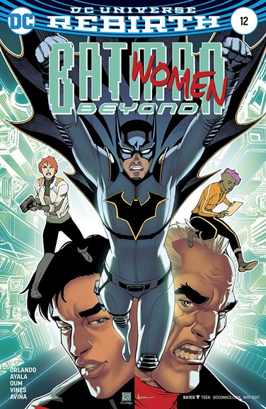 Batman Beyond Cover - 11/1/2017