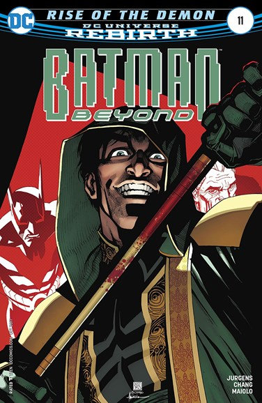 Batman Beyond Cover - 10/1/2017