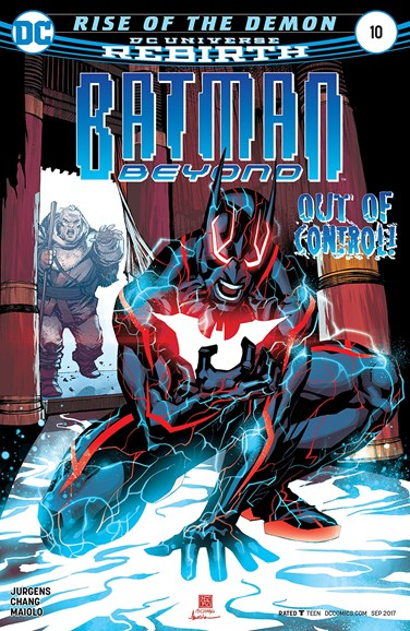 Batman Beyond Cover - 9/1/2017