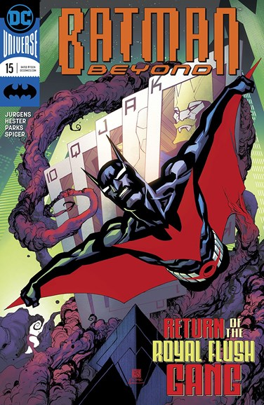 Batman Beyond Cover - 2/1/2018