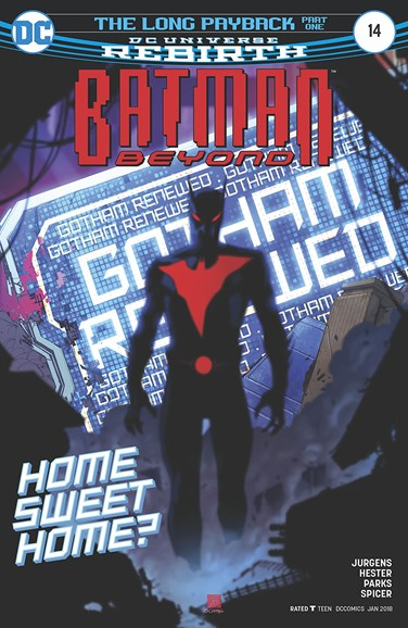 Batman Beyond Cover - 1/1/2018