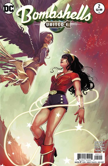 Bombshells United Cover - 11/1/2017