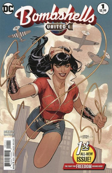 Bombshells United Cover - 10/1/2017