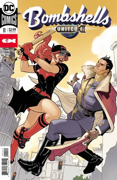 Bombshells United Cover - 4/1/2018