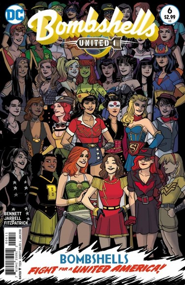 Bombshells United Cover - 1/15/2018