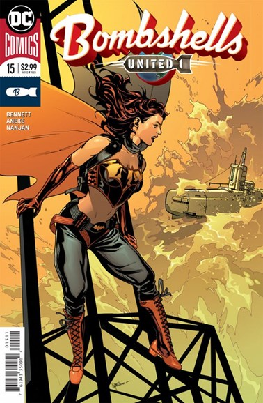 Bombshells United Cover - 6/1/2018
