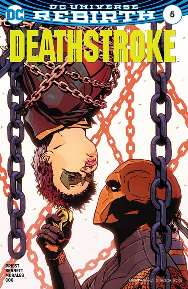 Deathstroke Cover - 12/15/2016
