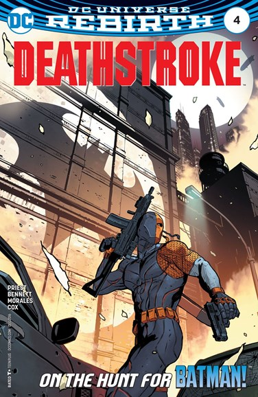 Deathstroke Cover - 12/1/2016