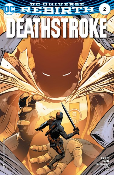 Deathstroke Cover - 11/1/2016