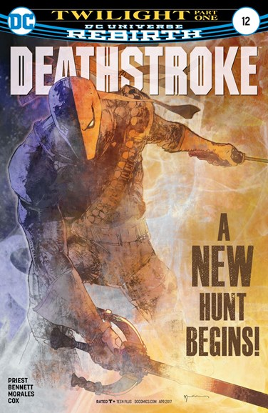 Deathstroke Cover - 4/1/2017