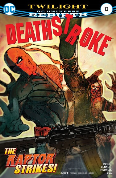 Deathstroke Cover - 4/15/2017