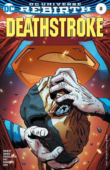 Deathstroke Cover - 2/1/2017
