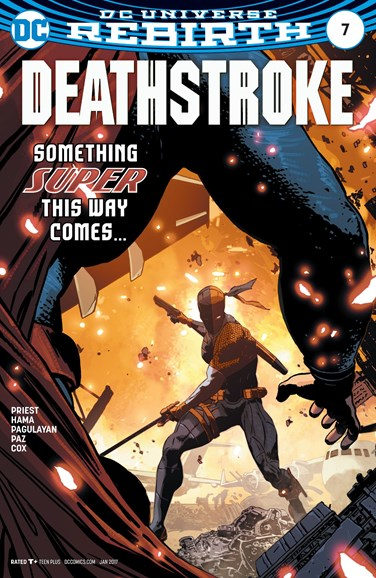 Deathstroke Cover - 1/15/2017