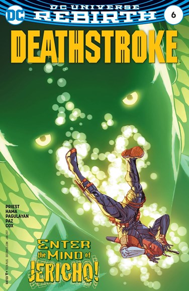 Deathstroke Cover - 1/1/2017
