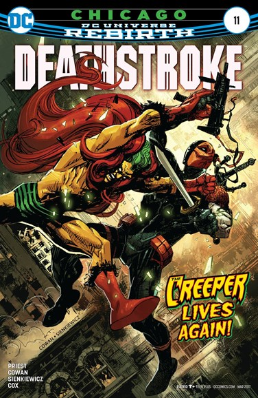 Deathstroke Cover - 3/15/2017