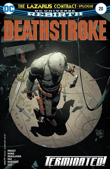 Deathstroke Cover - 8/1/2017