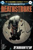 Deathstroke-the Terminator 8/1/2017