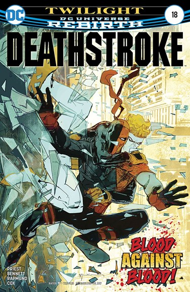Deathstroke Cover - 7/1/2017