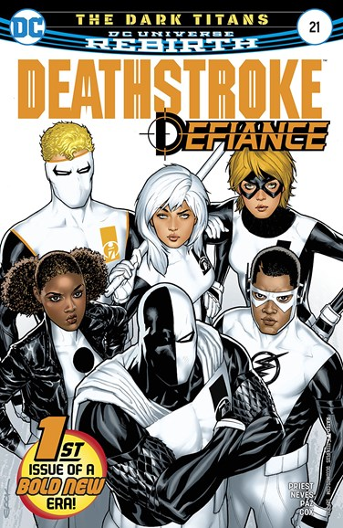 Deathstroke Cover - 9/1/2017
