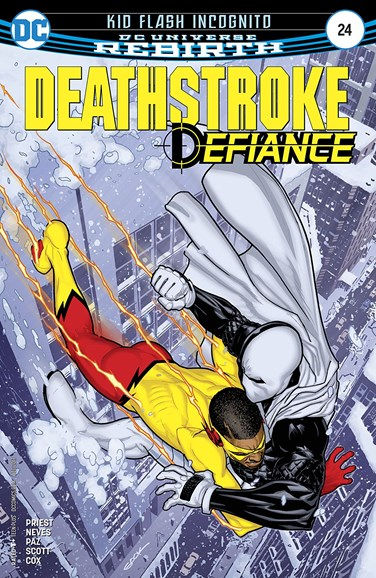 Deathstroke Cover - 12/1/2017