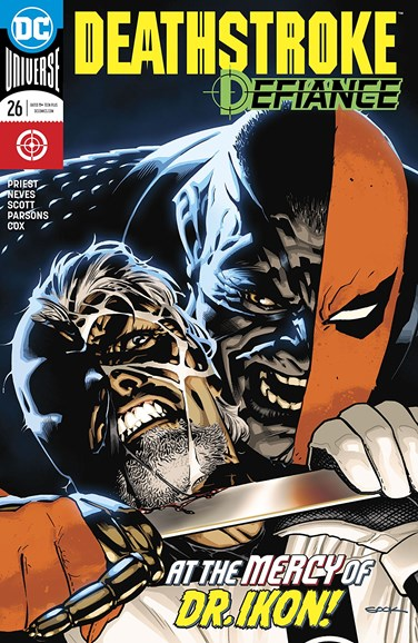 Deathstroke Cover - 2/1/2018