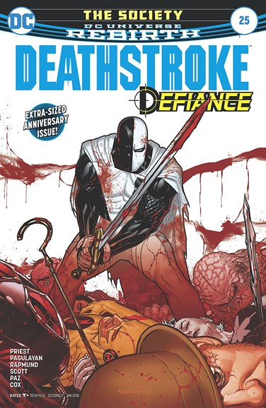 Deathstroke Cover - 1/1/2018