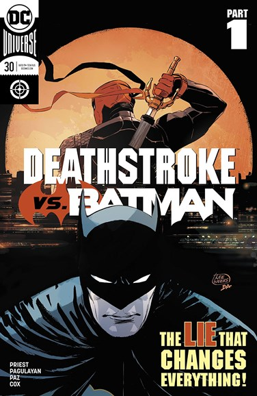 Deathstroke Cover - 6/1/2018