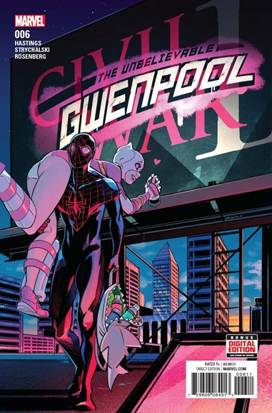 The Unbelievable Gwenpool Cover - 11/1/2016