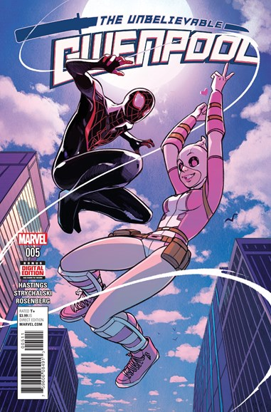 The Unbelievable Gwenpool Cover - 10/1/2016