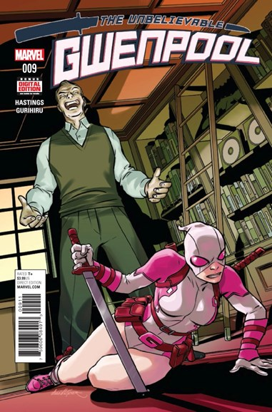 The Unbelievable Gwenpool Cover - 2/1/2017