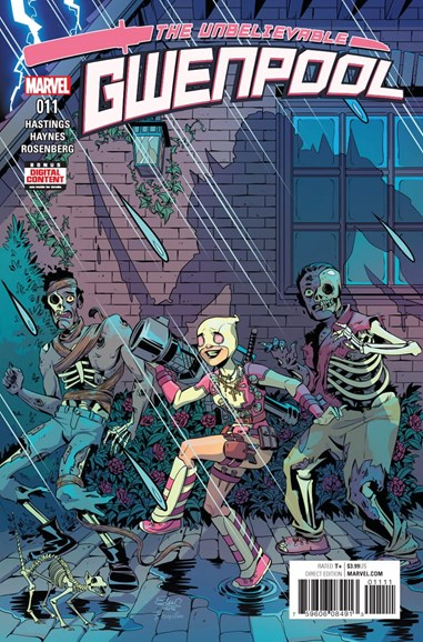 The Unbelievable Gwenpool Cover - 4/1/2017
