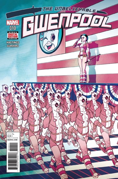The Unbelievable Gwenpool Cover - 3/1/2017