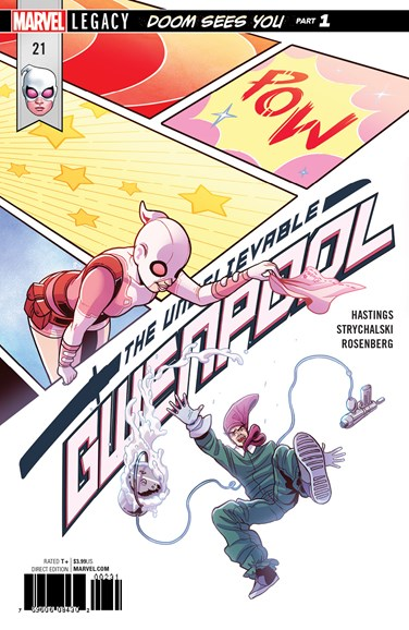 The Unbelievable Gwenpool Cover - 12/1/2017